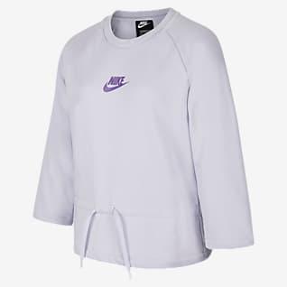 Nike Sportswear Big Kids' (Girls') 3/4-Sleeve Top