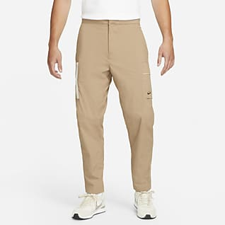 Nike Sportswear Style Essentials Calças cargo entrançadas e sem forro para homem