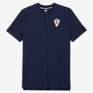 Kroatien Herren-Poloshirt