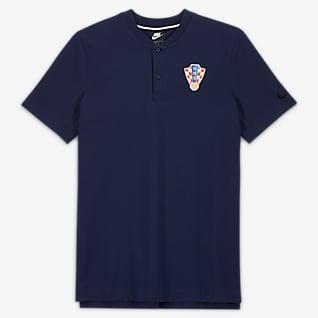 Chorwacja Męska koszulka polo