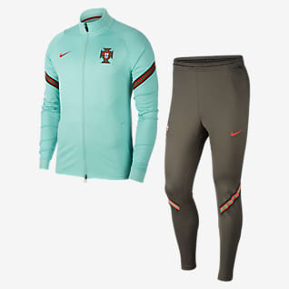 Portugal Strike Fato de treino de futebol para homem
