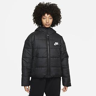 Nike Sportswear Therma-FIT Repel Huvjacka för kvinnor