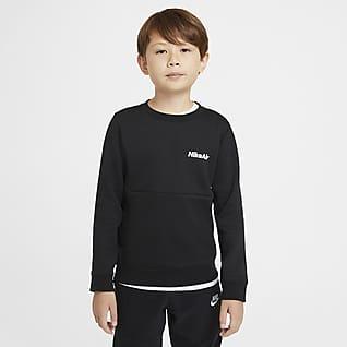 Nike Air Jongensshirt met ronde hals en lange mouwen