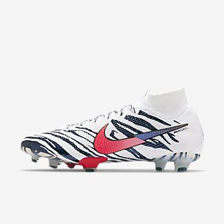 Innendørs Nike Mercurial Vapor XI FG Fotballsko Light Hvit