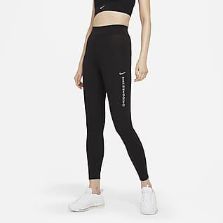 Nike Sportswear Swoosh 女子高腰紧身裤