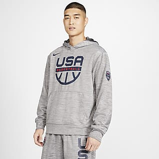 USA Nike Spotlight Basketball-Hoodie für Herren