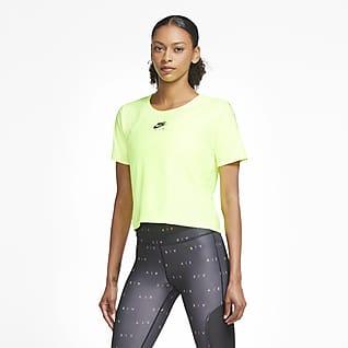 Nike Air Женская беговая футболка с коротким рукавом