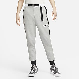 Nike x sacai กางเกงขายาวผ้าฟลีซ