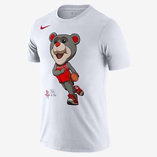 Houston Rockets Mascot Men's Nike Dri-FIT NBA T-Shirt