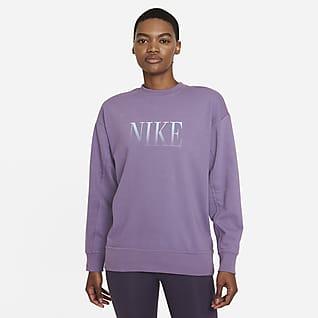 Nike Dri-FIT Get Fit Damska bluza treningowa z grafiką