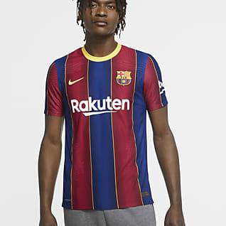 FC Barcelona 2020/21 Vapor Match (hemmaställ) Fotbollströja för män