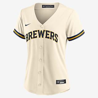 MLB Milwaukee Brewers Women's Replica Baseball Jersey