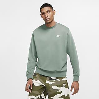 Nike Sportswear Club Tröja med rund hals i frotté för män