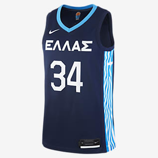 Greece (Road) Nike Limited Мужское баскетбольное джерси