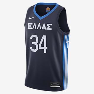 Greece (Road) Nike Limited Basketjersey för män