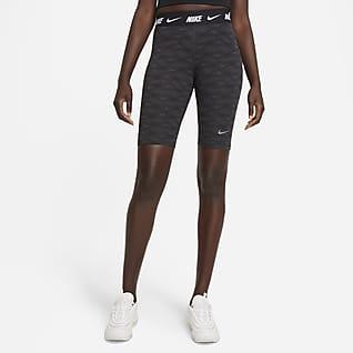Nike Sportswear Damskie spodenki z nadrukiem