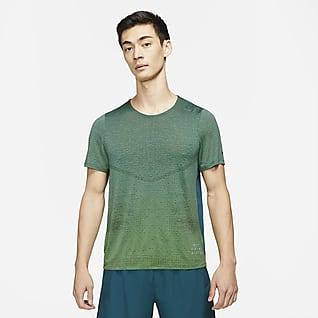 Nike Pinnacle Run Division 男款短袖跑步上衣