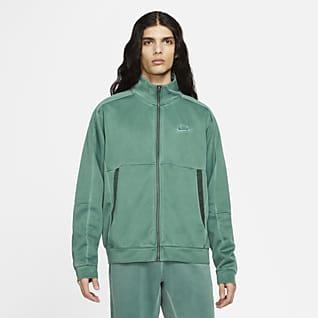 Nike Sportswear Herenjack van jerseymateriaal