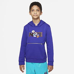 Nike Dri-FIT x Space Jam: A New Legacy 大童連帽上衣