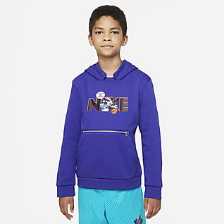 Nike Dri-FIT x Space Jam: A New Legacy Big Kids' Hoodie