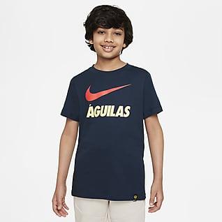 Club América Playera para niños talla grande