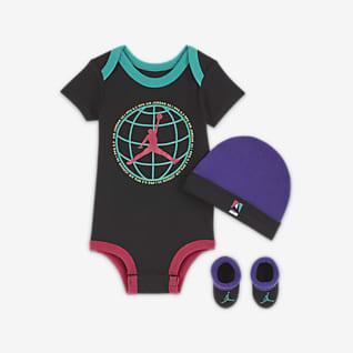 Jordan Conjunto de 3 peças para bebé (0-6 M)