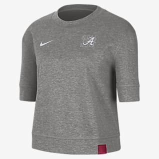 Nike College (Alabama) Women's Reversible Crop Top