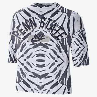 Nike College (Penn State) Women's Boxy Printed T-Shirt
