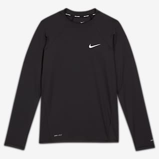 Nike Essential Women's Long-Sleeve Hydroguard Swim Shirt