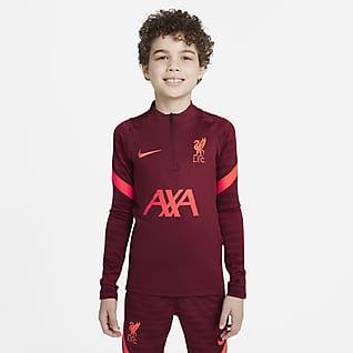 Liverpool F.C. Strike Older Kids' Football Drill Top
