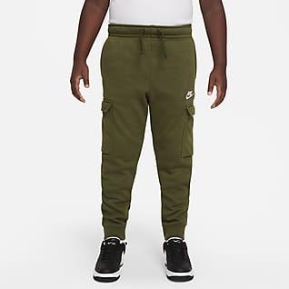 Nike Sportswear Club Cargobukse til store barn (gutt) (utvidet størrelse)