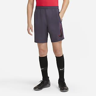 Nike Dri-FIT Academy Big Kids' Graphic Soccer Shorts