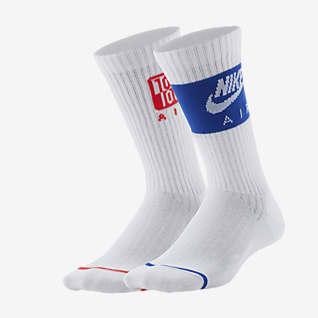 Nike Swoosh Lightweight Calcetines largos para niños talla grande (2 pares)