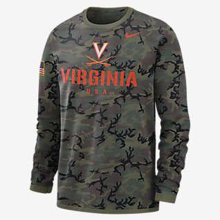 Nike College Dri-FIT (Virginia) Men's Long-Sleeve Sweatshirt