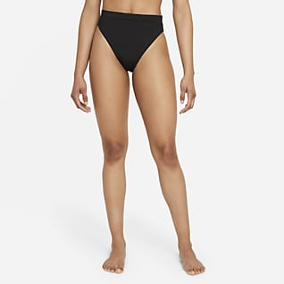 Nike Essential Cueca de bikini de natação de cintura subida para mulher