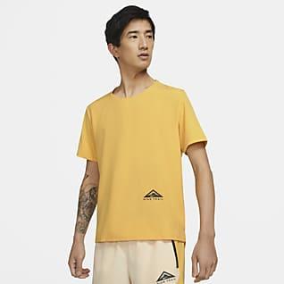 Nike Dri-FIT Rise 365 เสื้อวิ่งเทรลแขนสั้น