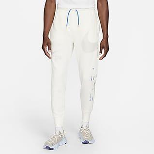 Nike Sportswear Swoosh Pantalon semi-brossé pour Homme