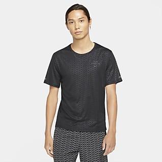 Nike Miler Run Division เสื้อแขนสั้นผู้ชาย