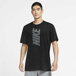 Nike Dri-FIT Men's Block Logo Training T-Shirt