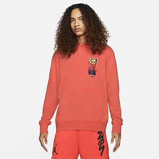 Jordan Dri-FIT Zion Ανδρική μπλούζα με κουκούλα υψηλών επιδόσεων