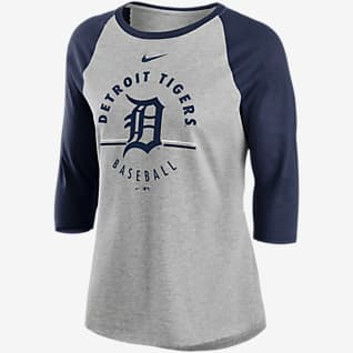 Nike Encircled (MLB Detroit Tigers) Women's 3/4-Sleeve T-Shirt
