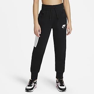 Nike Air Older Kids' (Girls') French Terry Trousers
