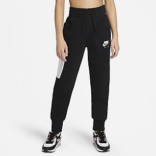 Nike Air Spodnie z dzianiny dla dużych dzieci (dziewcząt)