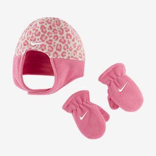 Nike Conjunto de gorro y manoplas para bebé e infantil