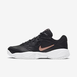 NikeCourt Lite 2 Женская теннисная обувь для игры на кортах с твердым покрытием