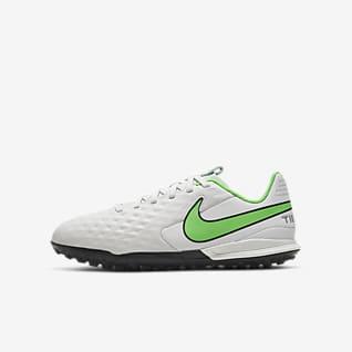 Nike Jr. Tiempo Legend 8 Academy TF Botas de fútbol para hierba artificial o moqueta - Turf - Niño/a y niño/a pequeño/a