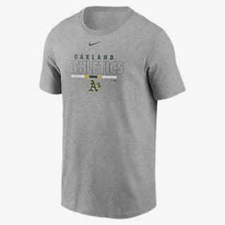 Nike Color Bar (MLB Oakland Athletics) Men's T-Shirt