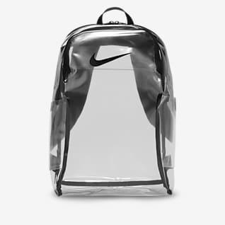 Nike Brasilia Mochila transparente de entrenamiento
