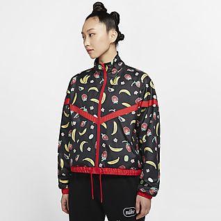 Nike Sportswear 女款梭織印花外套