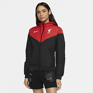 Liverpool FC Windrunner Chamarra para mujer